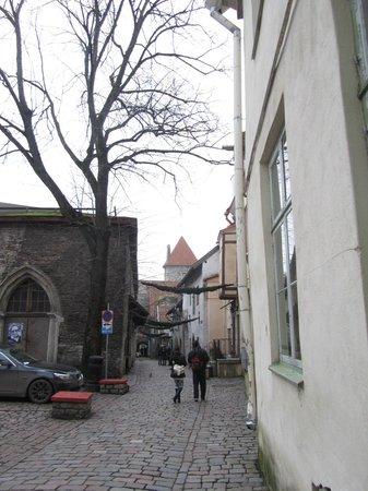 St. Catherine's Passage: The Passage begins from Vene street