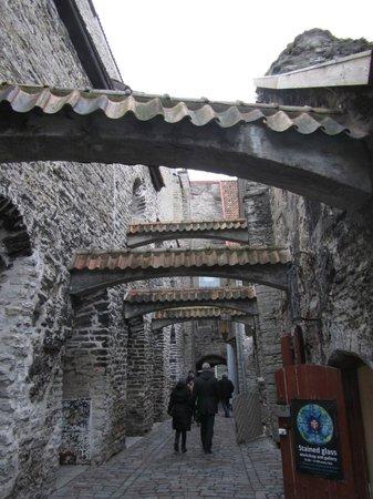 St. Catherine's Passage: Beautiful archway towards Müürivahe street