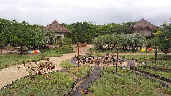 Marimba Secret Gardens : Center