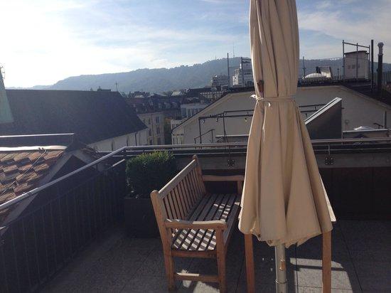 Widder Hotel: Duplex balcony