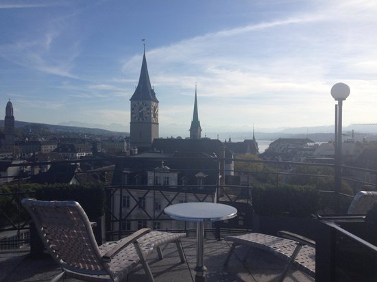 Widder Hotel: The view from the top