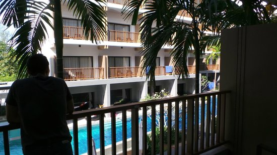 Deevana Plaza Krabi Aonang: Vue du balcon
