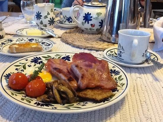 Alkham Court Farmhouse : a beautifull breakfast