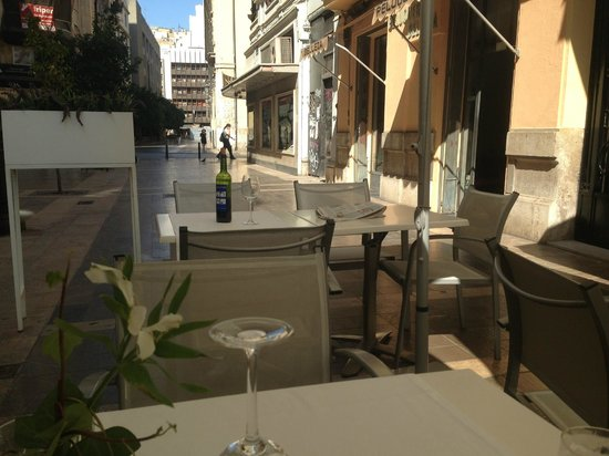 Restaurante Navarro: View from outside seating area