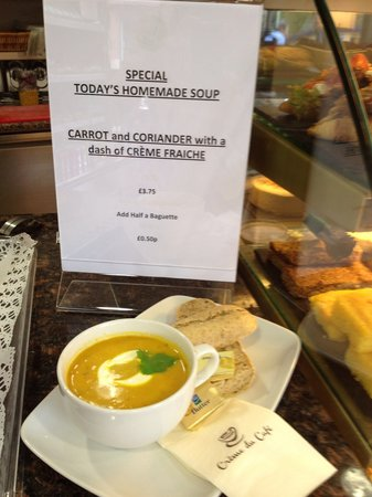 Creme du Cafe: Homemade soups