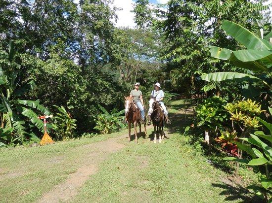 Fidelito Ranch & Lodge: Reitausflug mit Brigitte