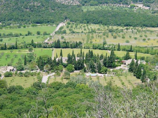Fangar Finca : panoramica general de la finca