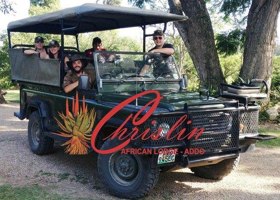 Chrislin African Lodge: Crisscross Adventure safari's