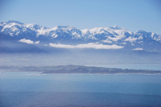 Wings Over Whales : Kaikoura view