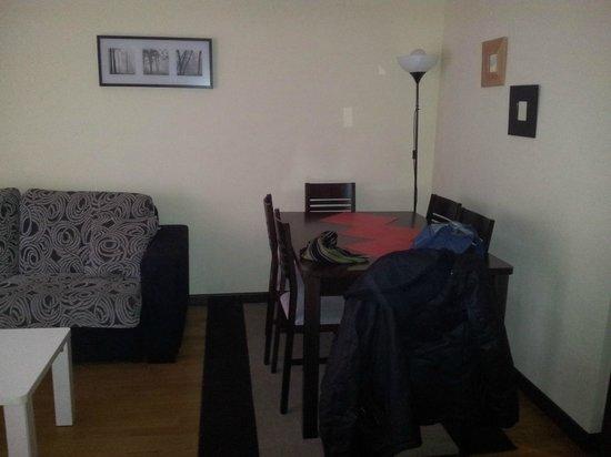 Apartamentos Soterrana: Salón