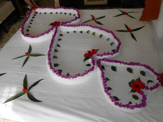 Aydinbey King's Palace Spa & Resort: Die Bettdeko auf unserem Zimmer