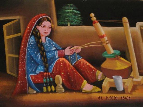 Shalimar : Nice wall Painting1