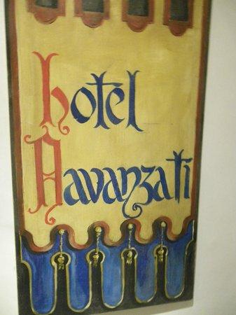 Hotel Davanzati: Escudo