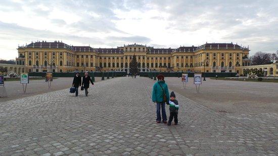 Schloss Schönbrunn: First day