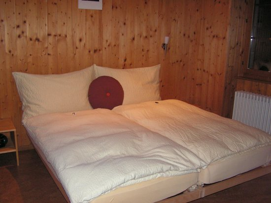 Domaine du Burignon: Comfortable beds and duvets