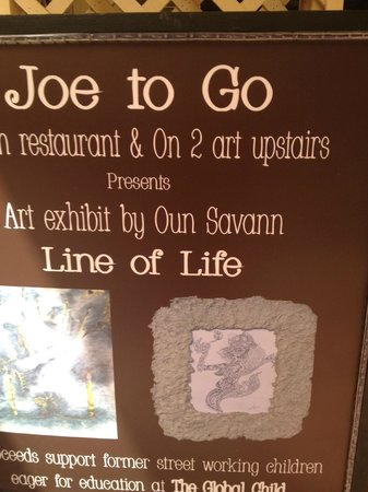 Joe to Go: Banner