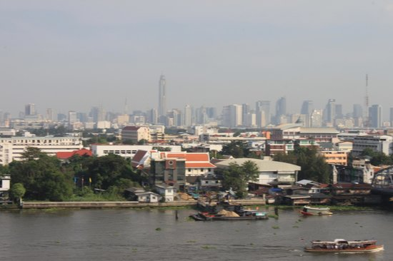 The Royal River Hotel : vue sur la ville