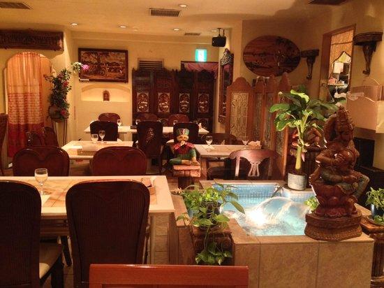 Nataraj Ginza: Restaurant at the 7th floor