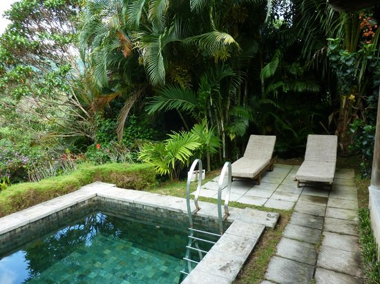 Lakaz Chamarel Exclusive Lodge: Private swimmingpool