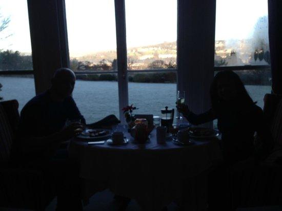 Paradise House B&B: Breakfast view