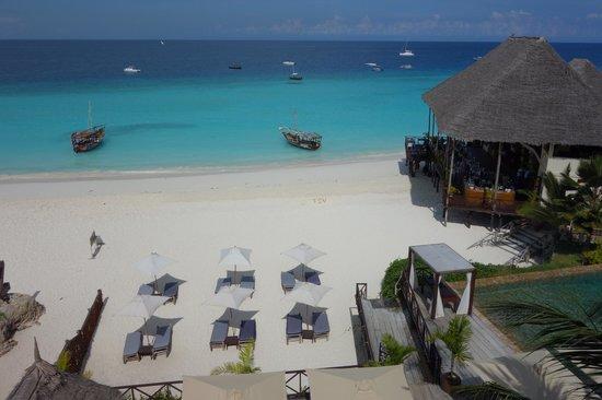 The Z Hotel Zanzibar: Blick vom Zimmer