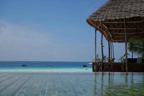The Z Hotel Zanzibar: Blick vom Pool