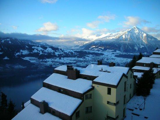 Hotel Gloria: Vue depuis le balcon