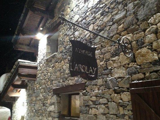 Restaurant L'Arolay : L'Arolay