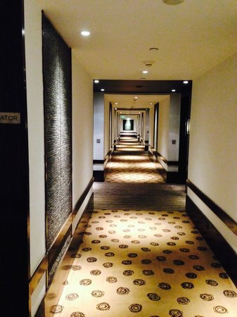 Hyatt Regency Mumbai : 4th floor corridor