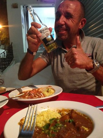 Curry Omm : Curry and Corona