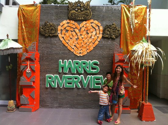 HARRIS Hotel & Residences Riverview Kuta : hello