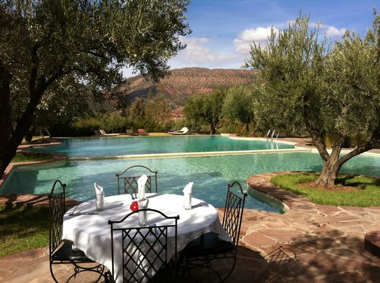 Legendes Evasions - Day Tours: Lunch venue during Atlas Mountains tour