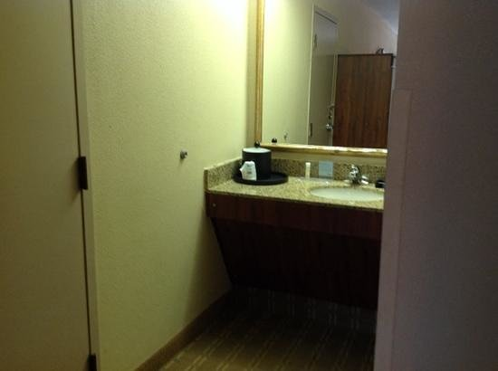 Red Lion Inn and Suites Fayetteville: vanity area