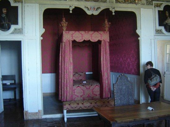Château de Châteauneuf-en-Auxois : Chambre
