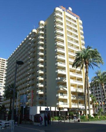 Sol Pelícanos Ocas: Hotel front aspect
