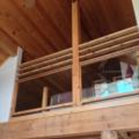 River's Edge Resort: Lofted bed rooms