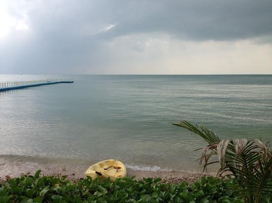 Mai Samui Resort & Spa : view from the beach bar
