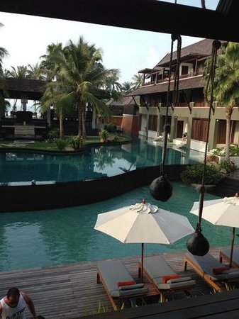 Mai Samui Resort & Spa : View from the lobby