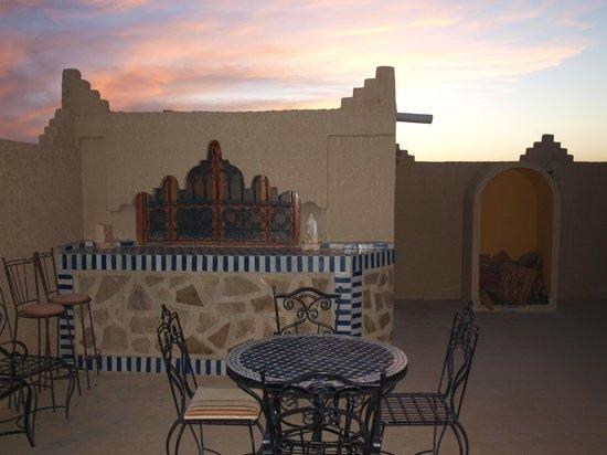 Hotel Kasbah Mohayut: Sunset