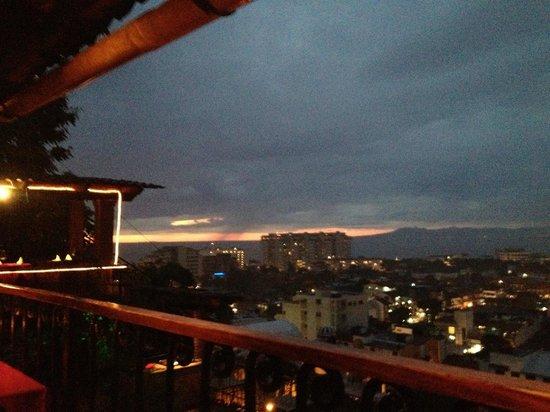 El Palomar de los Gonzalez sunset