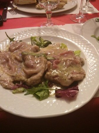 Mamma Roma: scaloppine