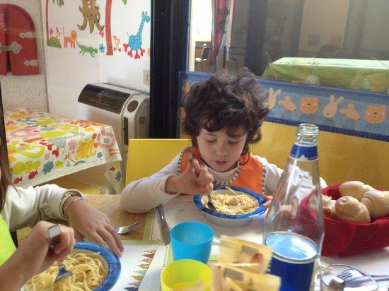 Hotel del Bambino: a pranzo