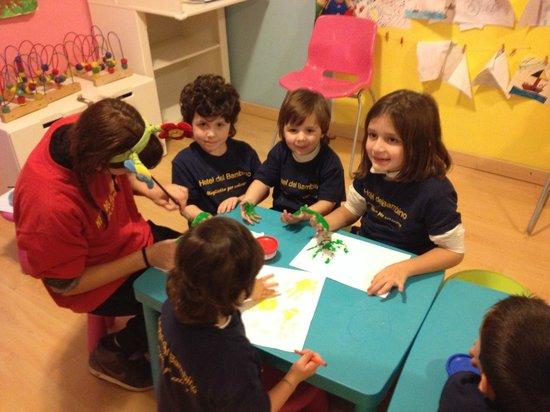 Hotel del Bambino: coloriamo!!!!!!!!!!!!!!