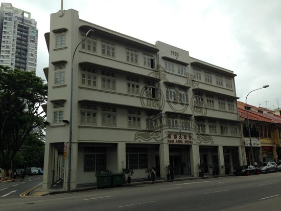 Kam Leng Hotel: Front View