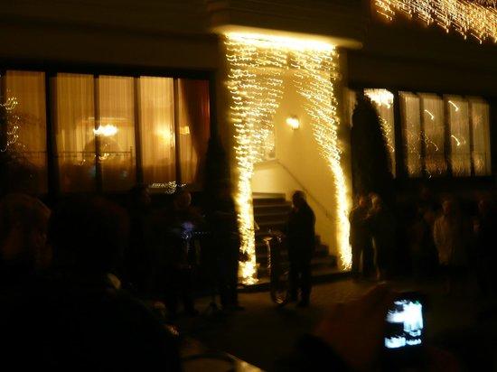 Jenbacherhof: Hotel Christmas Illuminations
