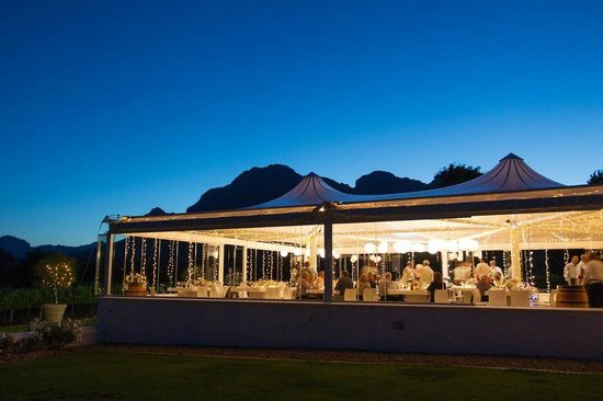 Vrede en Lust Estate: Wedding reception venue