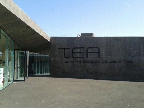 TEA Tenerife Espacio de las Artes: Una de las entradas.