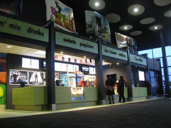 Larne Omniplex: Snacks on sale.