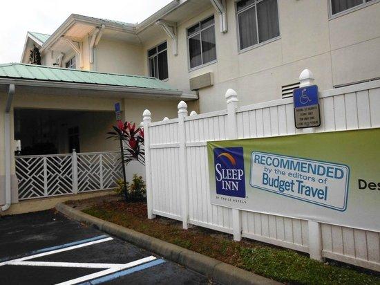 MainStay Suites: Rebranding to a Sleep Inn in progress?