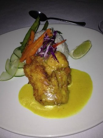 Royal Decameron Montego Beach: fish dish at souk!